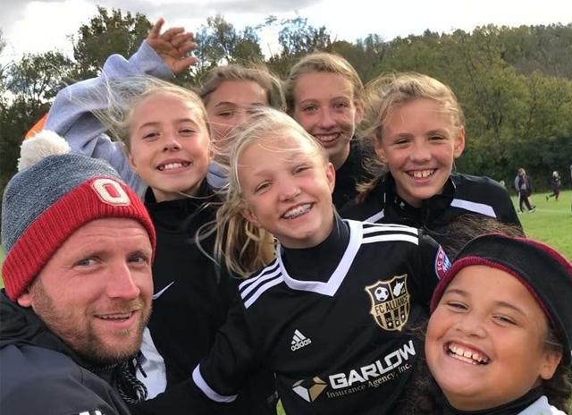 Youth Sports - girls closeup